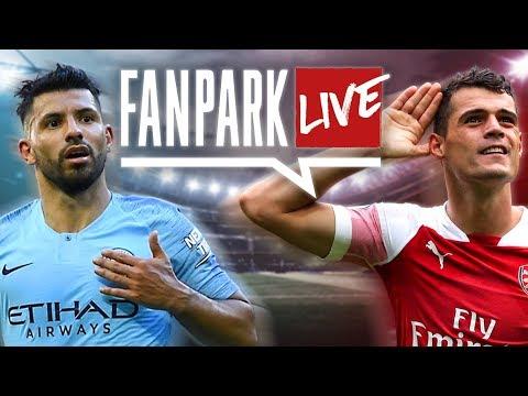 Aguero Demolishes Arsenal - Man City 3-1 Arsenal | FanPark Live