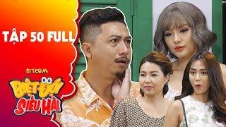 """Biệt đội siêu hài   Tập 50 full: Hứa Minh Đạt bị Phương Trinh Jolie """"tán sấp mặt"""" vì tội """"biến thái"""""""