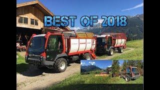 Best of 2018 ► Agrartechnik Tirol ► Fendt-Lindner-Reform ► [GoPro]
