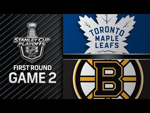 Toronto Maple Leafs vs Boston Bruins – Apr. 14, 2018 | Game 2 | Stanley Cup 2018. Обзор