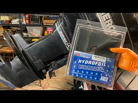 How To Install a Hydrofoil on a Bass Boat Mercury Outboard