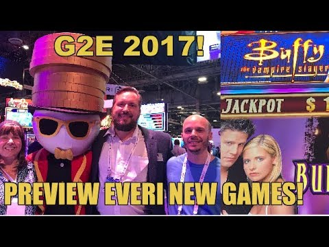 ♦️G2E 2017♦️EVERI NEW SLOT GAMES PREVIEW