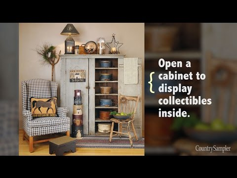 14 Simple Ways to Decorate with Primitives | A Country Sampler Design Tutorial thumbnail