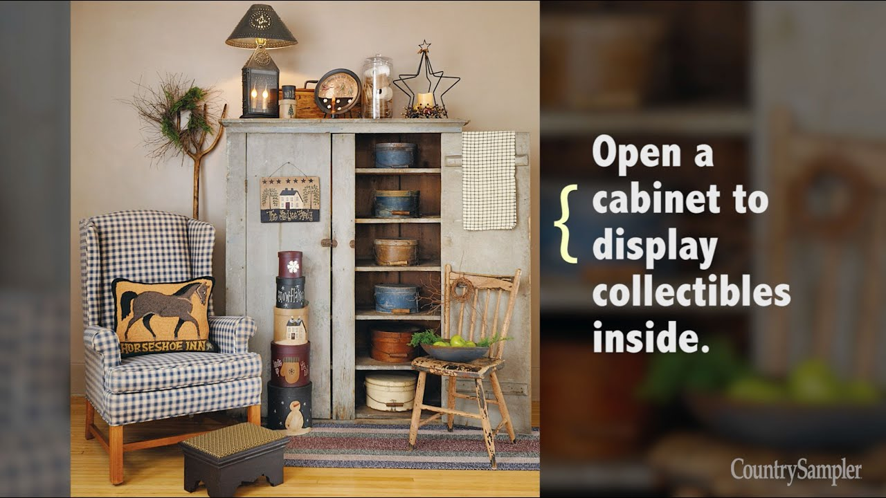 Simple Ways to Decorate with Primitives - YouTube