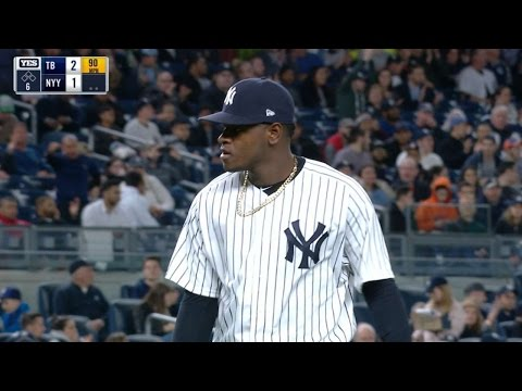 TB@NYY: Severino fans career-high 11 batters in win