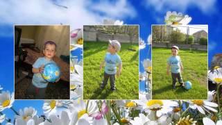 Слайд-шоу ребенку на 2 года