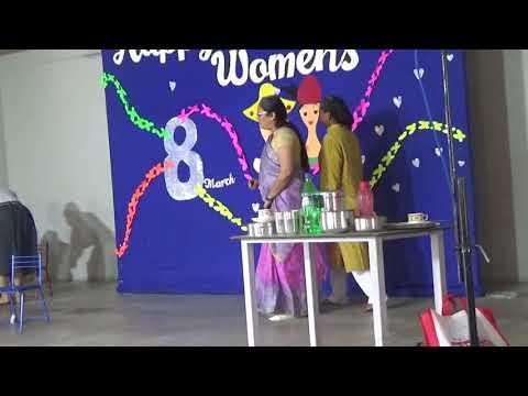 Skit by Balmandir Staff on Women's Day celebration