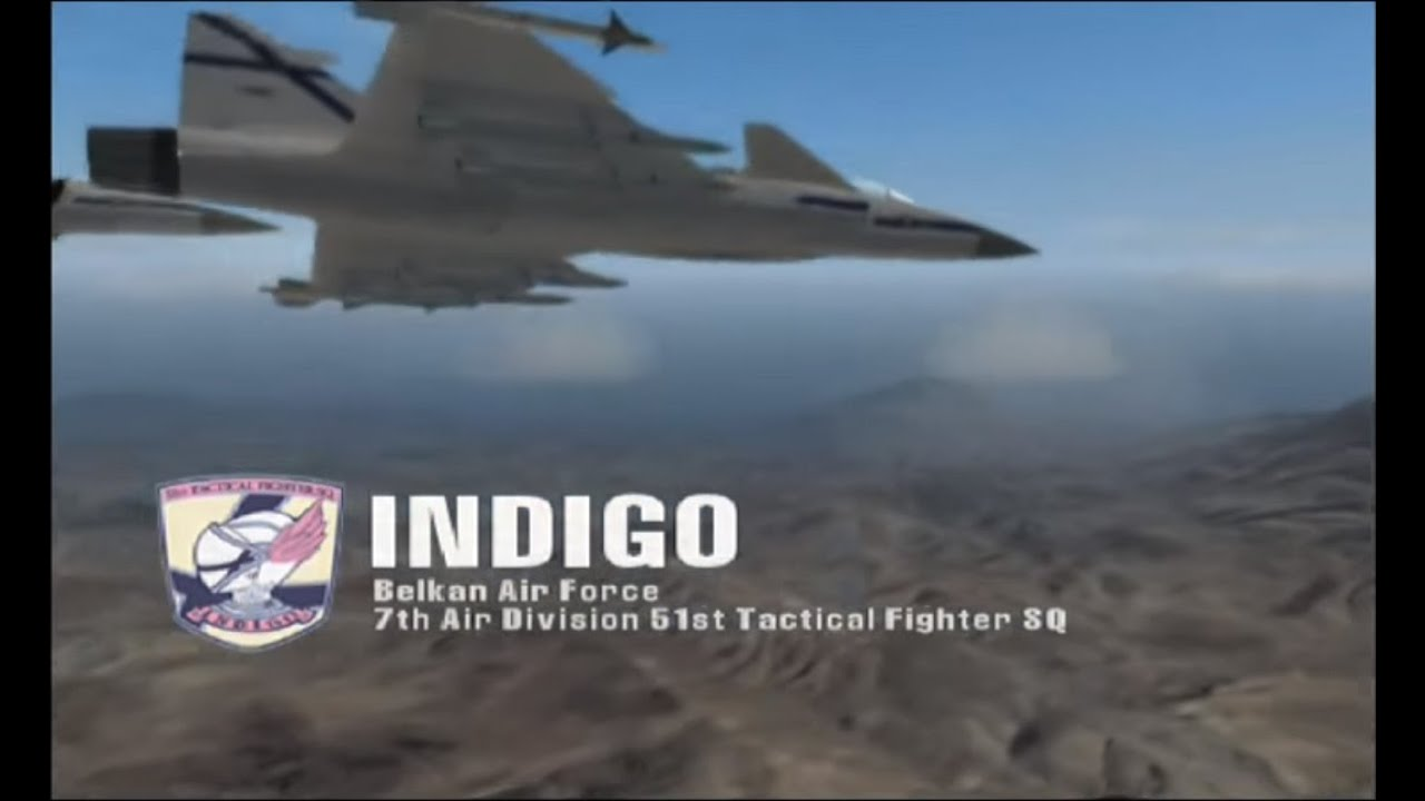 The Round Table Ace Combat.Ace Combat Zero Mission 3 The Round Table Knight Style