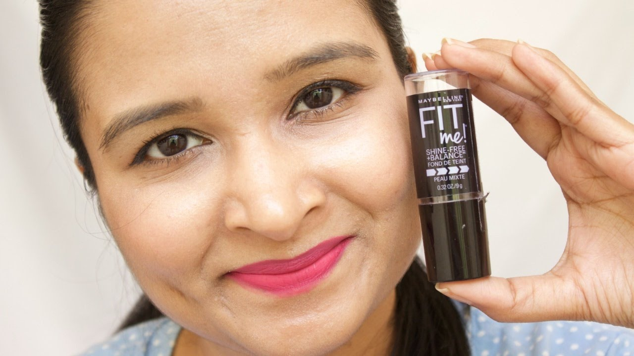 Maybelline Sponsored: fit me shine-free foundation review