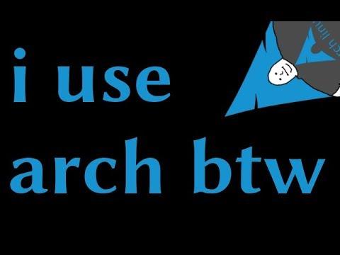 Arch Linux: Is it a meme?