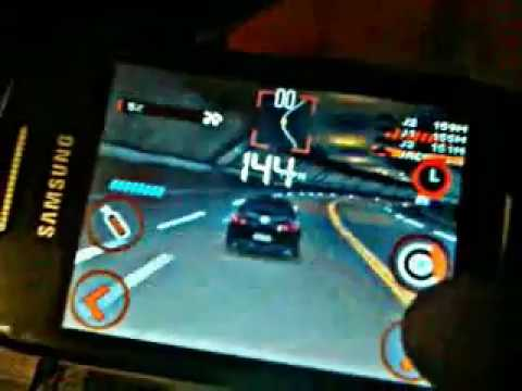 samsung corby 2 - need for speed 3d
