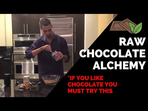 Making the Best Raw Super Food Herbal Chocolate Ever!