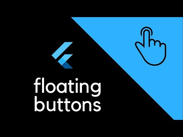 FlutterUI - Floating buttons using dialogs