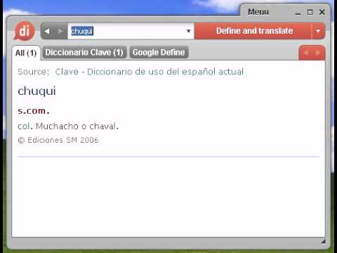 Definición de chuqui Travel Video