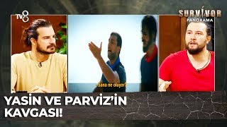 Survivor'ın İlk Kavgası: Yasin ve Parviz Birbirlerine Girdi | Survivor Panaroma 3.Bölüm