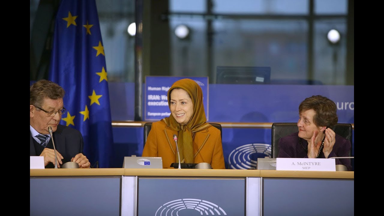 Maryam Rajavi's speech at the European Parliament - December 6, 2017