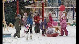 Челнинские дошколята встречают зиму в полной боевой готовности! :)