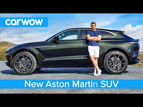 New Aston Martin DBX SUV 2020 – full exterior and interior review…and DOG TEST!