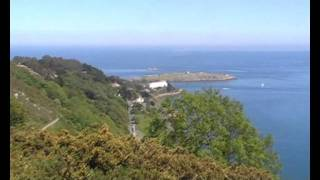 360 degree view from Killiney Hill&Dalkey Hill in county Dublin of Ireland