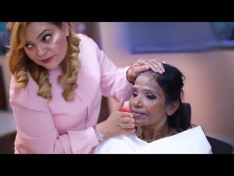 Ranu Mandal Makeover Video