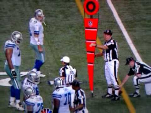 Tony Romo plays referee!