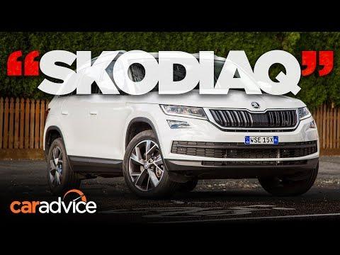 Kodiaq review: Is Skoda's first large SUV a legit contender? | CarAdvice - Dauer: 6 Minuten, 9 Sekunden