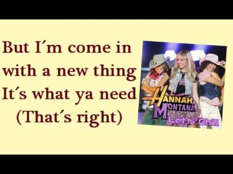 Ice Cream Freeze (Karaoke/Instrumental) - Hannah Montana 3