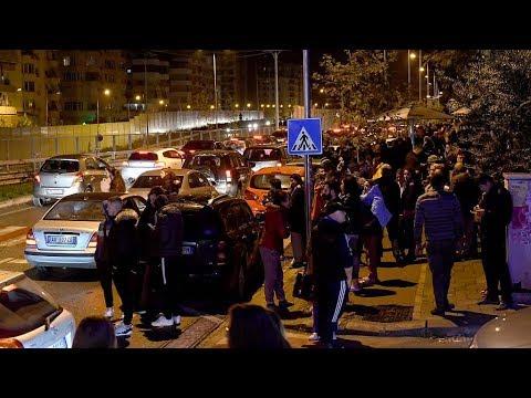 Many injured as magnitude-6.4 quake hits Albania