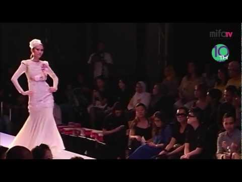Nazreen idris , Malaysia Fashion show , Wedding dresses Collection 2011