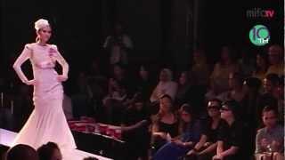 Nazreen idris , Malaysia Fashion show , Wedding dresses Collection 2011