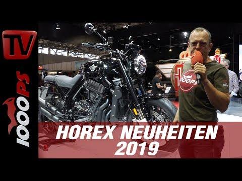 Horex VR6 - Neu für 2019 auf der INTERMOT - RAW!