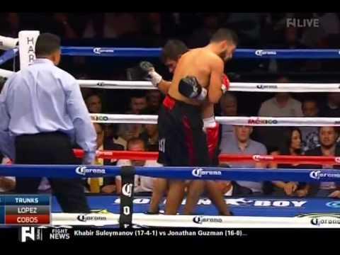 Josesito Lopez vs Rafael Cobos 11 09 2014