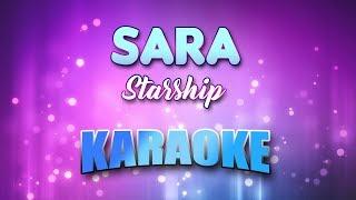 Starship - Sara (Karaoke & Lyrics)