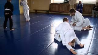 Trening BJJ dla dzieci Rosomak Białystok