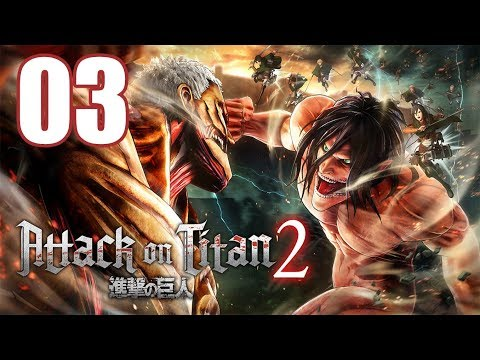 Attack on Titan 2 - Gameplay Walkthrough Part 3: Reunited
