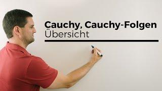 Cauchy, Cauchy-Folgen, Übersicht, Konvergenz von Folgen | Mathe by Daniel Jung