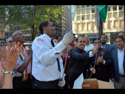 [Full Video] Consulate General of India, Chicago Flag hoisting ceremony at Richard J. Daley Center