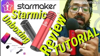 Starmaker mic review Starmic unboxing, review ,full tutorial. Starmic vocal master specifications .