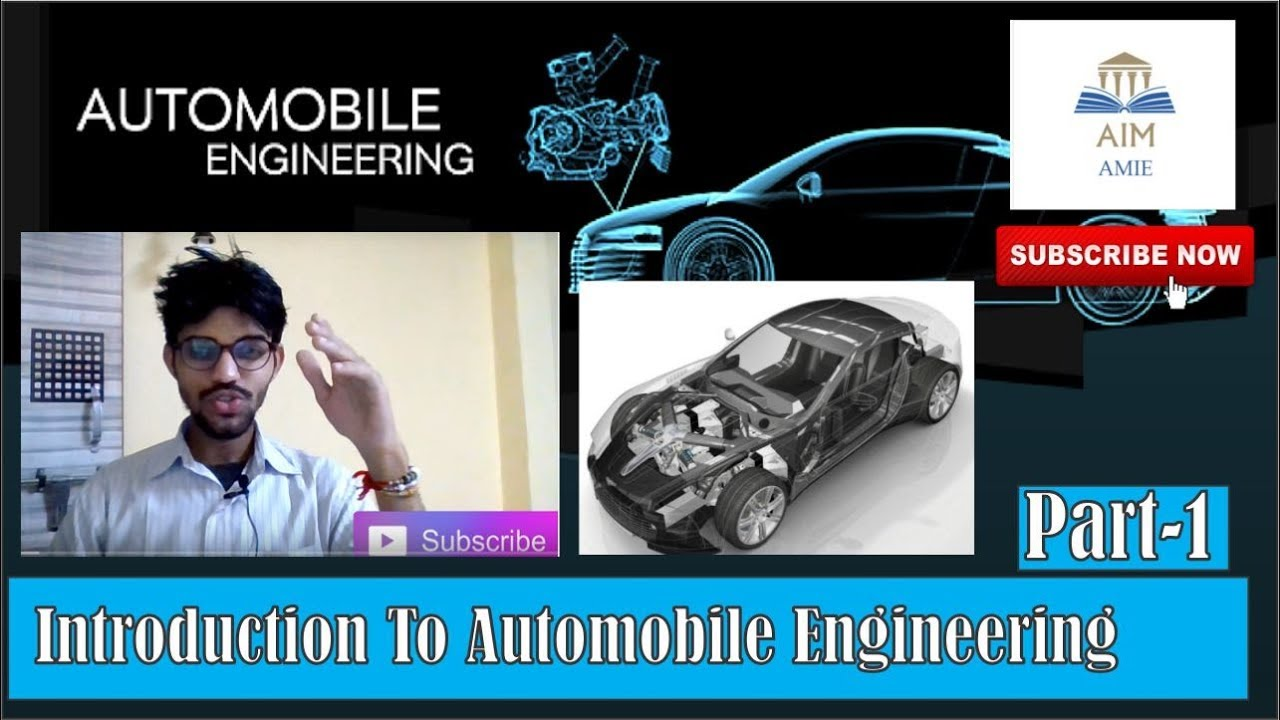 Automobile Engineering-Introduction Part 1 ||Engineer's Academy||
