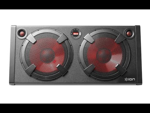 ION Audio Road Warrior Bluetooth Speaker *Upgraded* Video 1