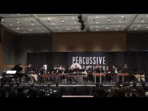 """RHS Percussion Performing """"Surfacing"""" by Dave Hall"""