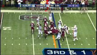 Auburn O vs South Carolina D 2010 Conference Championship