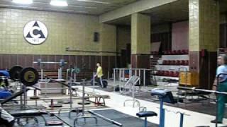Зал Тяжелой Атлетики Болгария. 2010.