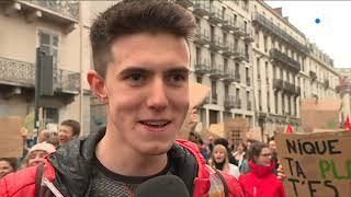 Grenoble : la manifestation pour le climat a rassemblé 3000 jeunes