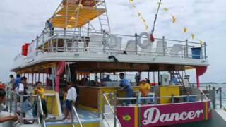 catamaran dancer Cancun Isla Mujeres dia catamaran DANCER