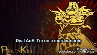 Repeat youtube video PlentaKill - Animals I Can Become (Three Days Grace - Animal I Have Become LoL Parody) PLK