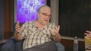 Philip Seymour Hoffman is Exhausted by Political Double-Speak