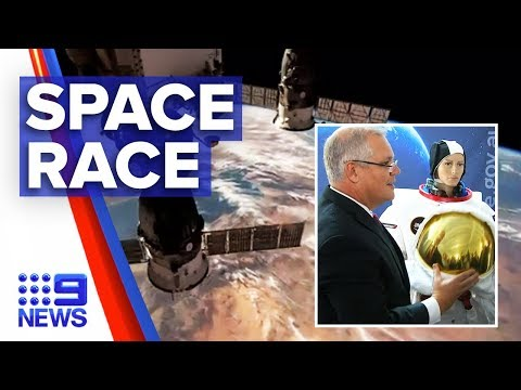PM launches new space agency in SA | Nine News Australia