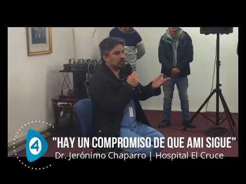 """AMI Florencio Varela: """"Hay un compromiso de los ministros de Salud de que los consultorios continúan"""""""