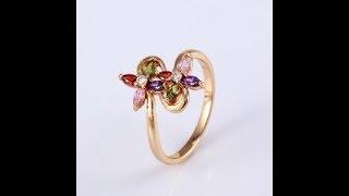 Видео обзор женского кольца из мед золота ВуменСити